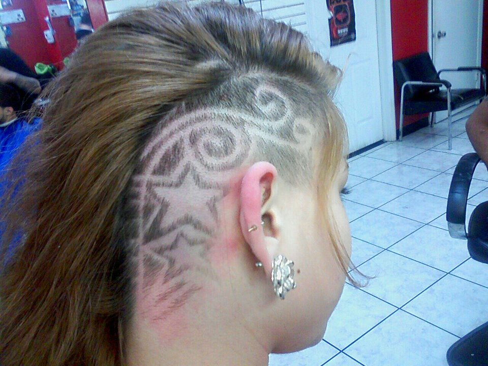 Hair Cutting Design : the mohawk haircut derives its name from the native people of the ...